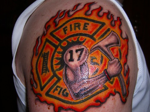 in 2001 it's the first & largest site dedicated to firefighter tattoos.