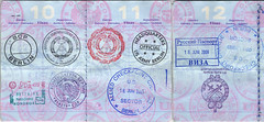 Passport Pages 10-12