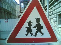 Funny kids sign