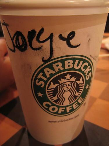Un dia en Starbucks Lima