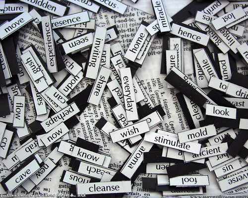 magnetic poetry by surrealmuse.