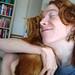 photo de moi faisant un calin à Peach.