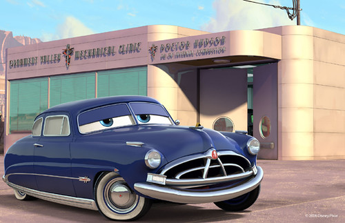 Doc Hudson, as voiced by Paul Newman.