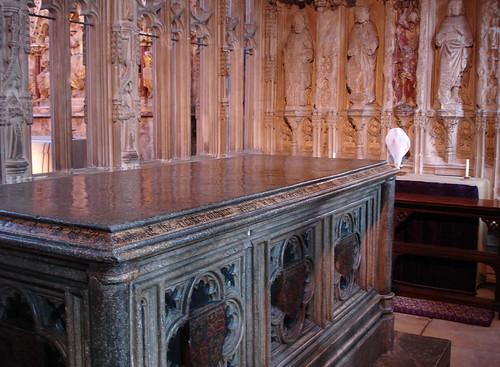 Prince Arthur's tomb