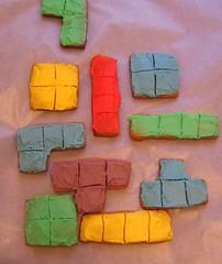 tetris cookies!