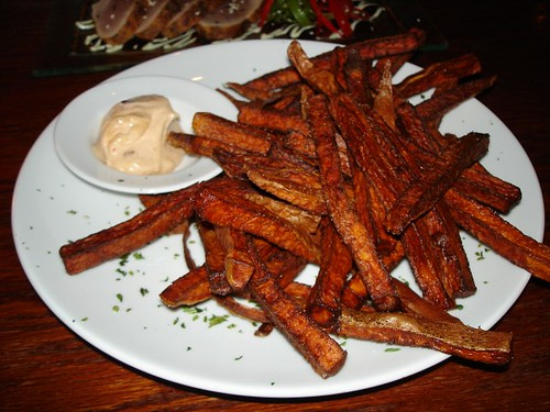 Sweet Potato Fries with Chipotle Mayo