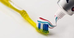 """Die Zahnbürste. Die Zahnbürsten. Auf dieser Zahnbürste ist bereits die Zahnpasta. • <a style=""""font-size:0.8em;"""" href=""""http://www.flickr.com/photos/42554185@N00/31795681730/"""" target=""""_blank"""">View on Flickr</a>"""