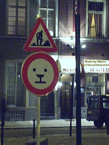 Panneau rue des Minimes Bruxelles