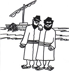 Disciples as Blues Brothers