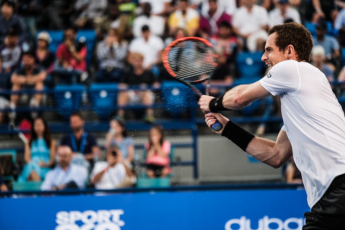 """Andy Murray's backhand on Impact with the ball • <a style=""""font-size:0.8em;"""" href=""""http://www.flickr.com/photos/125636673@N08/31990141475/"""" target=""""_blank"""">View on Flickr</a>"""