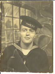 Dad's Navy Photo