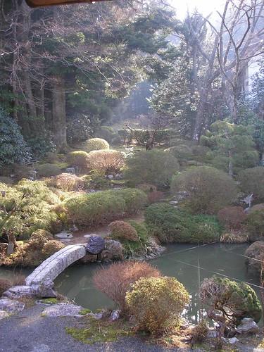 Muryokoin garden in the morning