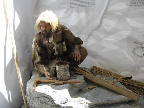 Otzi the Iceman by Melissa in TN