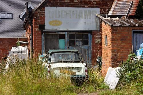 An old garage in Heather
