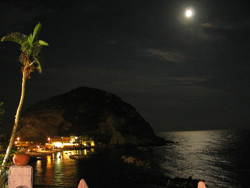 Moonlight over Ischia