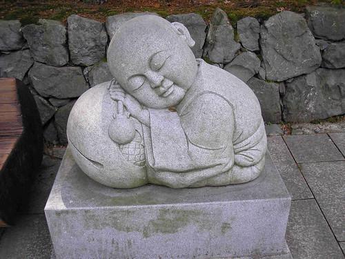 ickle sleeping buddha!
