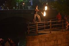 Ben Reynolds Fire Dancer Performance
