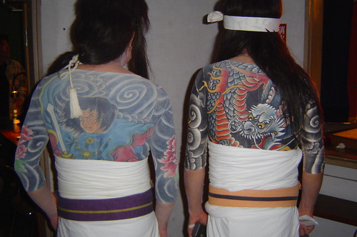 Japanese gangster tattoos / 入墨
