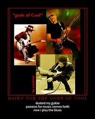 gods of cool (redux) (aka The Bluesy Trinity)
