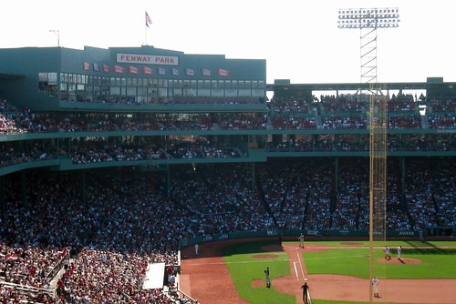 Fenway Park: Pesky Pole and Grandstand by wallyg.
