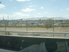Ciudad Juárez, Mexico, seen from El Paso, Texas