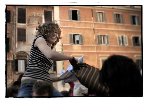 roman pillow fight macebio matteo carnevali