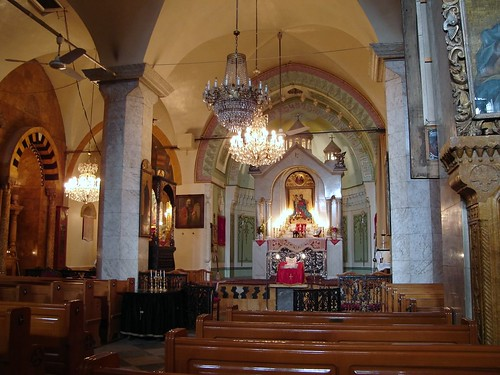 Syria. Aleppo. Armenian church 40 martyrs