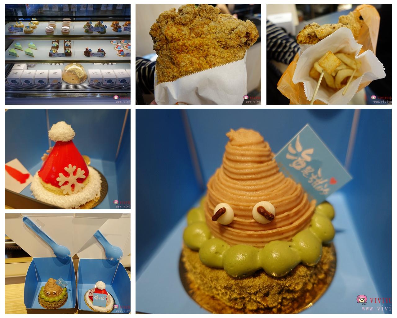 [桃園.美食]ATT筷時尚~『海是甜的』甜點蛋糕主要是外帶為主、加碼鱷魚騎士、快樂鹽酥雞