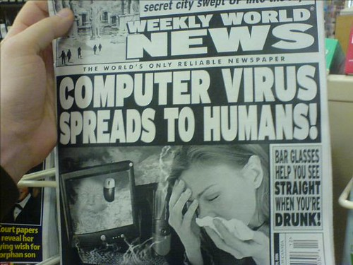 Computer Virus Spreads to Humans by TedRheingold.