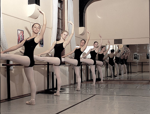 Ballet Class by Robyn Vickers Snaps.