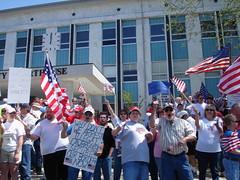 Anti-Illegal Immigration Demonstration, Cullman AL