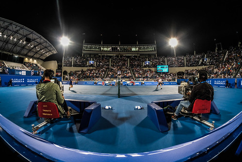 """Andy Murray and Davind Goffin both by the net • <a style=""""font-size:0.8em;"""" href=""""http://www.flickr.com/photos/125636673@N08/31952965886/"""" target=""""_blank"""">View on Flickr</a>"""