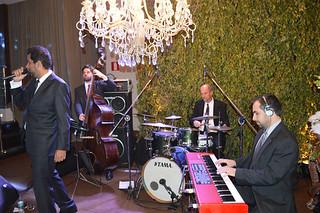 Banda boa de jazz and blues