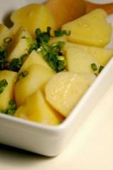 Leeks buttered potatoes