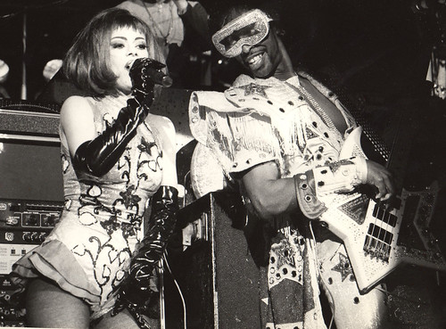 1991 Bootsy collins and lady Miss kier /dee-lite @ Montreux jazz festival by ladystyllees.