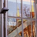 Rathausspiegelung in der P&C-Glasfassade