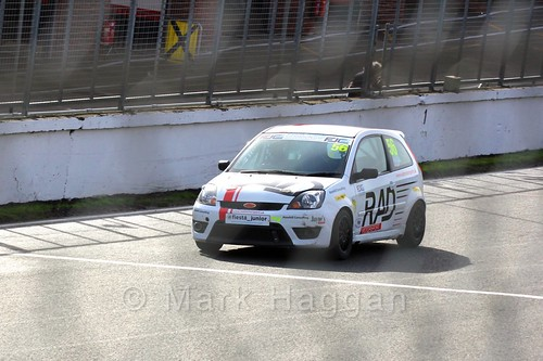 Richard Crisp in the Fiesta Junior Championship, Brands Hatch, 2015