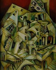 Suggestione di scorci, olio su tela, 50×70, 2006