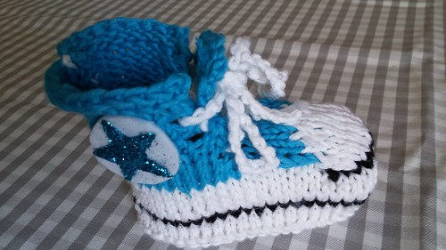 """Baby Chucks Strickanleitung • <a style=""""font-size:0.8em;"""" href=""""http://www.flickr.com/photos/92578240@N08/22684352855/"""" target=""""_blank"""">View on Flickr</a>"""