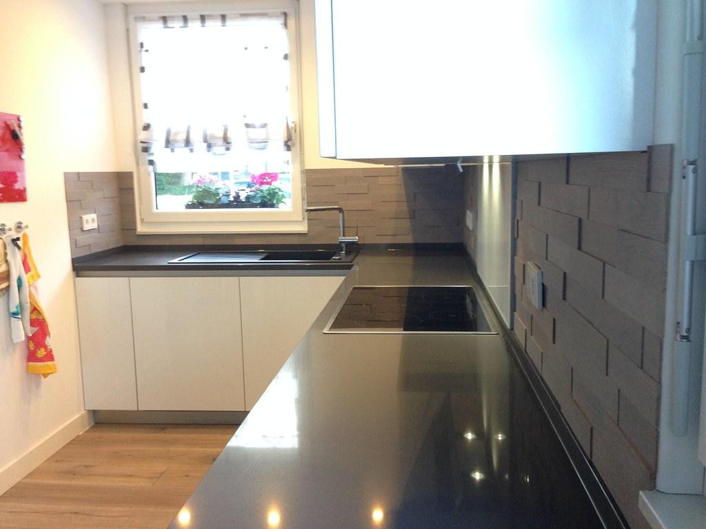 Nischenrückwand Küche Holz Küchenrückwand Ideen Aus Glas ...