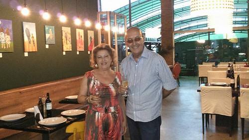 Maria Luiza e Luís Otávio Brandão