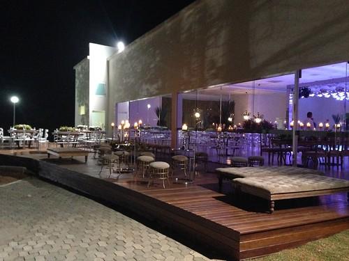 O novo deck do Folha de Prata aumentou o espaço utilizável e possíbilitou mais escolhas para convidados