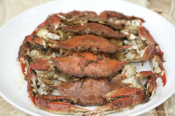 三點蟹,新北市,萬里蟹,螃蟹,螯遊萬里 @VIVIYU小世界