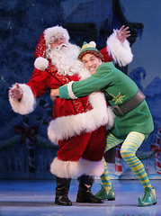 (L to R) Ken Clement and Daniel Patrick Smith from the Elf The Musical tour company presented by Broadway Sacramento at the Community Center Theater Nov. 6 – 15, 2015. Photo by Chris Bennion.
