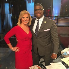 So great to be back on the air with my friend and amazing TV host Charles Payne  @cvpayne on @foxbusiness network. Love this guy and his show. Week nights at 6 pm ET.
