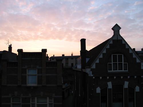 Atardecer en Hilversum