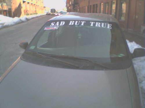 Ghetto Windshield Slogan
