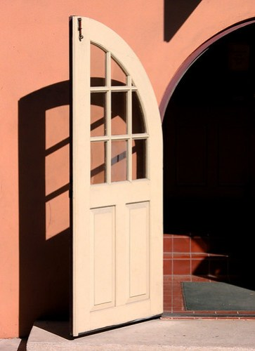 St. Augustine Doorway