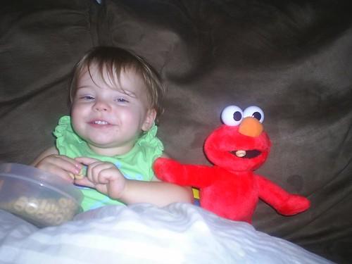 Feeding Elmo