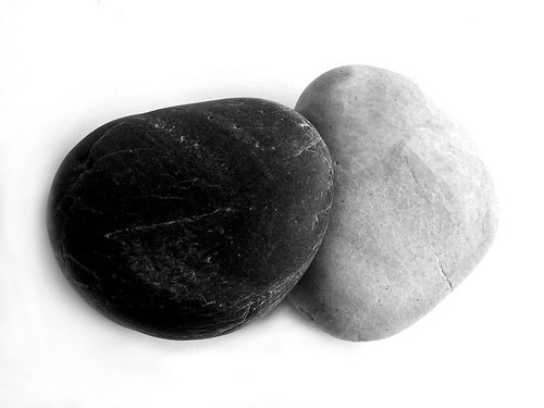 Black & White Rocks by Chris_J, on Flickr
